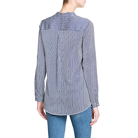 Buy Mango Striped Shirt, Navy Online at johnlewis.com