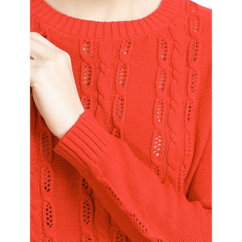 Buy Mango Cotton Jumper Online at johnlewis.com