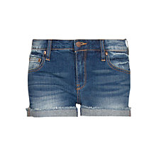 Buy Mango Denim Shorts, Navy Online at johnlewis.com