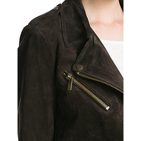 Buy Mango Peccary Biker Jacket Online at johnlewis.com
