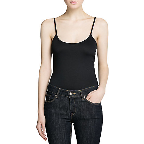 Buy Mango Spaghetti Strap Top Online at johnlewis.com