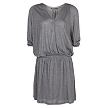 Buy Mango Loose Fit Jersey Dress, Dark Grey Online at johnlewis.com