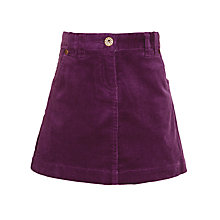 Buy John Lewis Girl A-Line Cord Skirt Online at johnlewis.com
