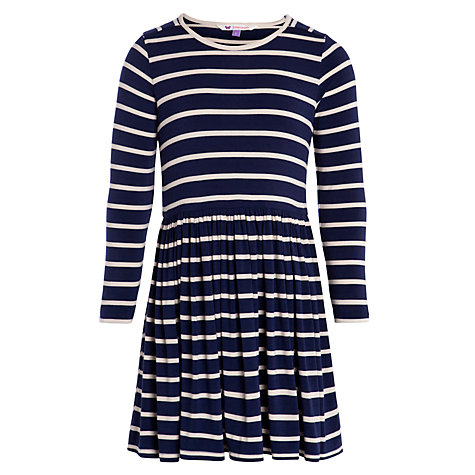 Buy John Lewis Girl Stripe Dress Online at johnlewis.com