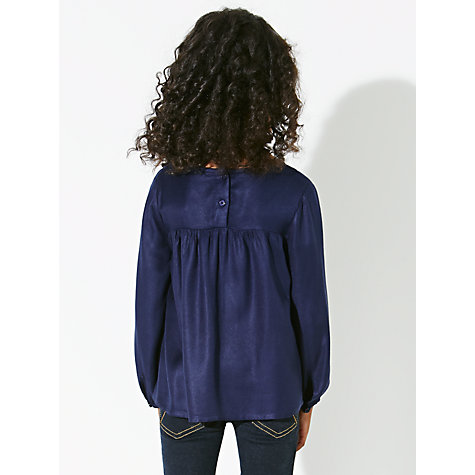 Buy John Lewis Girl Embroidered Tunic Top Online at johnlewis.com