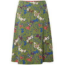 Buy White Stuff Butterfly Reversible Skirt, Avocado Online at johnlewis.com