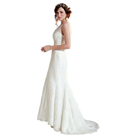 Buy Phase Eight Elodie Wedding Dress, Ivory Online at johnlewis.com