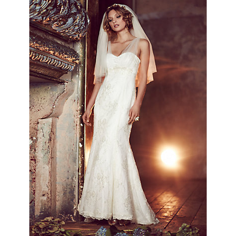 Buy Phase Eight Bridal Elodie Wedding Dress, Ivory Online at johnlewis.com
