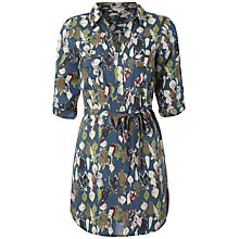 Buy White Stuff Sprouting Veg Tunic Top, Dark Avocado Online at johnlewis.com