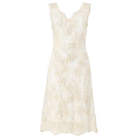 Buy Phase Eight Bridal Florentine Wedding Dress, Cream Online at johnlewis.com