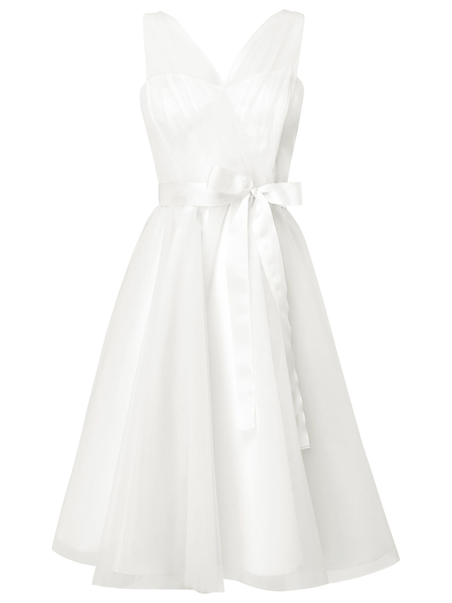 phase eight sally tulle wedding dress ivory