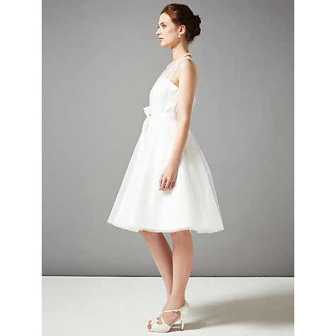 Buy Phase Eight Bridal Sally Tulle Wedding Dress, Ivory Online at johnlewis.com