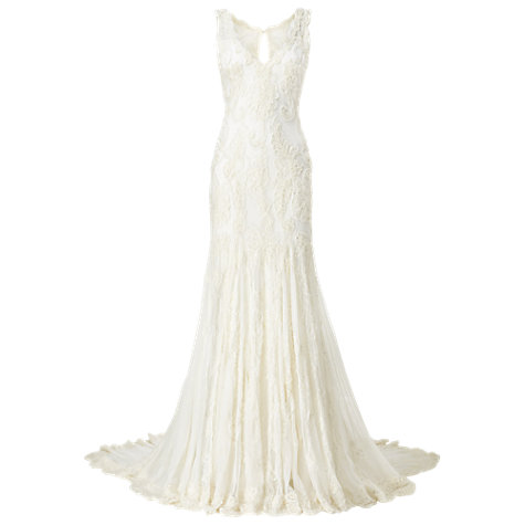 Buy Phase Eight Bridal Gardenia Wedding Dress, Ivory Online at johnlewis.com