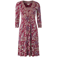 Buy White Stuff Daisy Daisy Dress, Beetroot Online at johnlewis.com