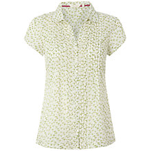 Buy White Stuff Ditsy Shirt, White Online at johnlewis.com