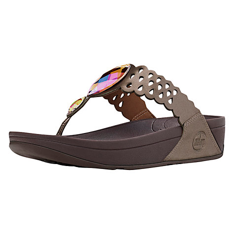Buy FitFlop Bijoo Leather Flip Flops Online at johnlewis.com