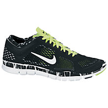 Buy Nike Women's Free 5.0 TR Fit 4 Cross Trainers, Black/White Online at johnlewis.com