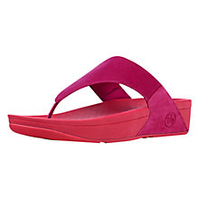 Buy FitFlop Lulu Canvas Sandals Online at johnlewis.com