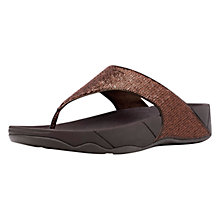 Buy FitFlop Astrid Sports Flip Flops, Copper Online at johnlewis.com