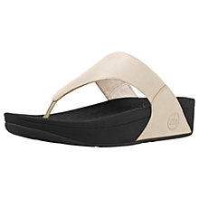 Buy FitFlop Lulu Leather Flip Flops Online at johnlewis.com