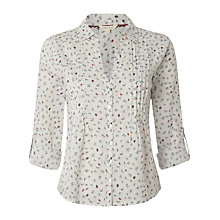 Buy White Stuff Strawberry Split Shirt, White Online at johnlewis.com