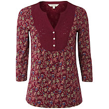 Buy White Stuff Greenhouse Shirt, Beetroot Online at johnlewis.com