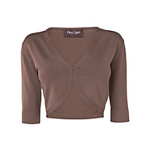 Buy Phase Eight Knitted Shrug, Praline Online at johnlewis.com