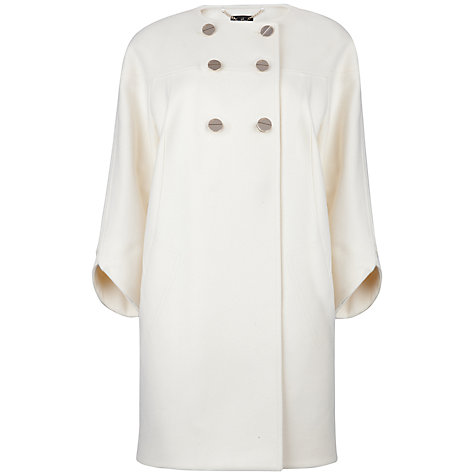 Buy Ted Baker Colete Wool Coat, Cream Online at johnlewis.com