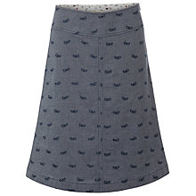 Buy White Stuff Paraball Bee Skirt, Chambray Online at johnlewis.com