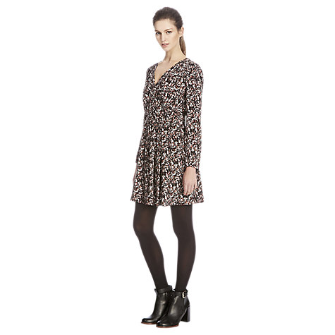 Buy Warehouse Wrap Dress, Multi Online at johnlewis.com