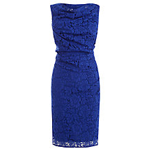 Buy Coast Lianna Lace Dress, Blue Online at johnlewis.com