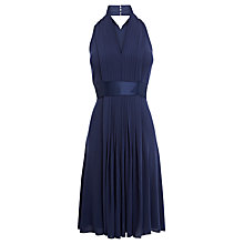 Buy Coast Goddess Short Dress, Navy Online at johnlewis.com