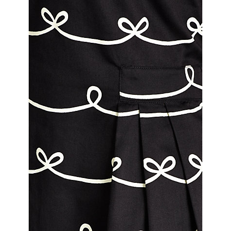 Buy People Tree Elizabeth Dress, Black Online at johnlewis.com