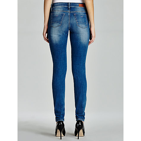 Buy BOSS Orange Lasveni Jeans, Bright Blue Online at johnlewis.com