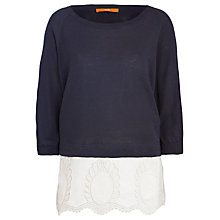 Buy BOSS Orange Llanna Knitted Underlay Top Online at johnlewis.com
