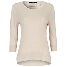 Buy Oui Knitted Jumper, Sand Online at johnlewis.com