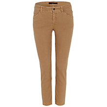 Buy Oui Skinny Jeans, Camel Online at johnlewis.com