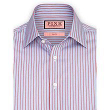Buy Thomas Pink Varten Stripe Long Sleeve Shirt Online at johnlewis.com