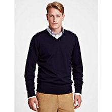 Buy Thomas Pink Millard V-Neck Jumper Online at johnlewis.com