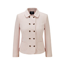 Buy Viyella Petite Pink Tweed Jacket, Shell Pink Online at johnlewis.com