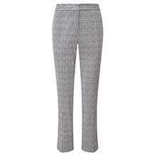 Buy Viyella Printed Capri Trousers, Navy/Ivory Online at johnlewis.com