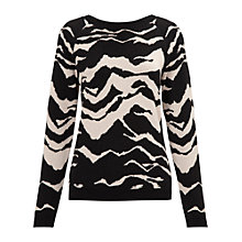 Buy Whistles Mystic Mountain Jacquard Jumper, Multi Online at johnlewis.com