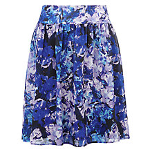 Buy Kaliko Honour Print Full Skirt, Blue Online at johnlewis.com