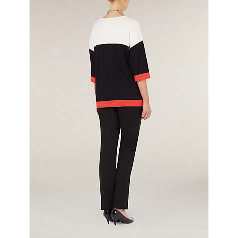 Buy Windsmoor Ponte Roma Trousers, Black Online at johnlewis.com