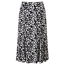 Buy Viyella Petite Rose Silhouette Jersey Skirt, Navy Online at johnlewis.com