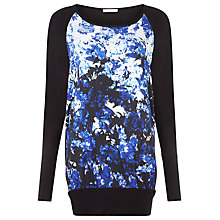 Buy Kaliko Eastern Lilly Top, Blue Online at johnlewis.com