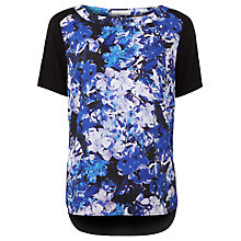 Buy Kaliko Honour Print Tee, Purple Online at johnlewis.com