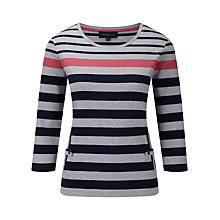 Buy Viyella Vertical Pocket Tee, Multi Online at johnlewis.com