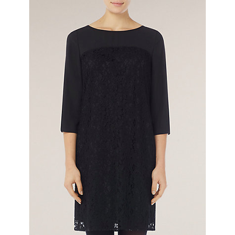 Buy Kaliko Lace Dress, Black Online at johnlewis.com
