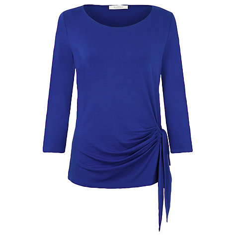 Buy Kaliko Side Tie Top, Blue Cobalt Online at johnlewis.com